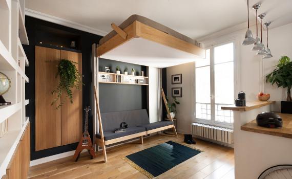 mafael lit plafond mode jour