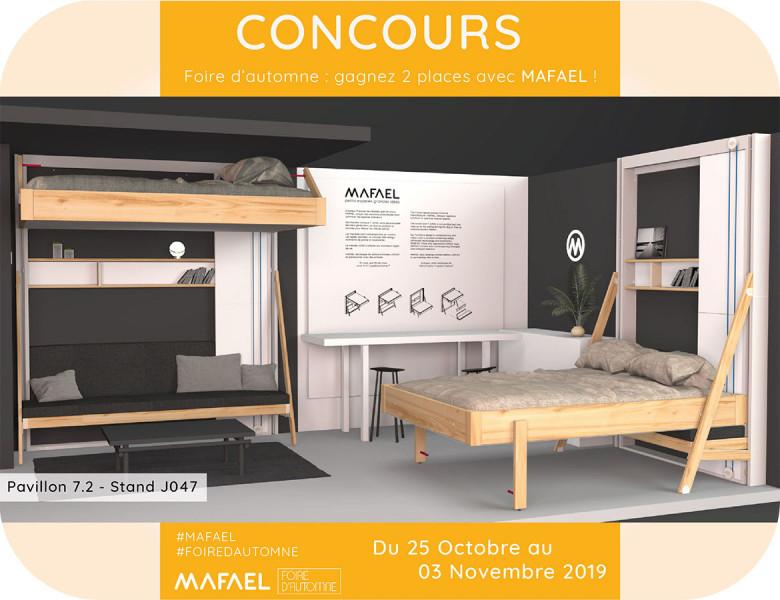 MAFAEL lance son jeu concours pour la Foire d'Automne 2019